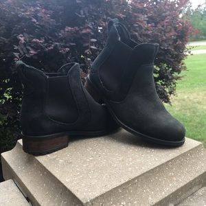 Black UGG Suede Booties